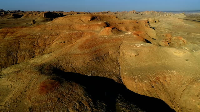 gobi desert aerial view - independent mongolia stock videos & royalty-free footage