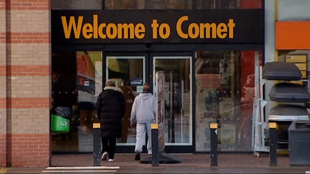 potential buyers eye up business TX GVs Comet store Jessops store