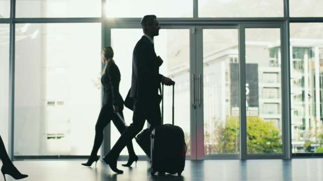 going where the business is - luggage stock videos & royalty-free footage