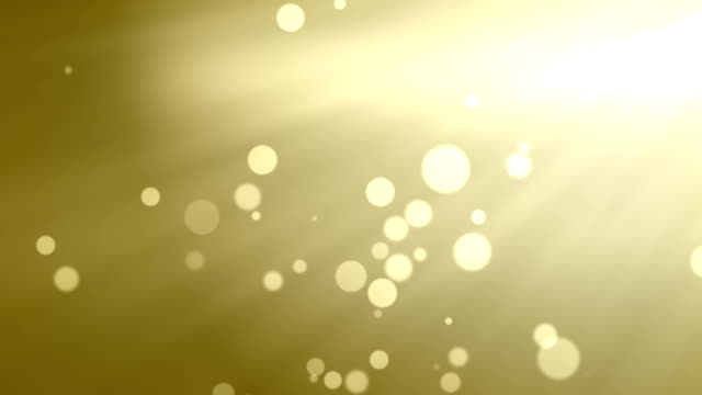 Goldene abstrakte bokeh Unscharf gestellt Lichter Hintergrund mit