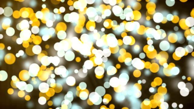 Gold abstrakte Bokeh Hintergrund