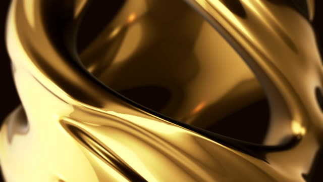 gold abstract - gold coloured stock videos & royalty-free footage