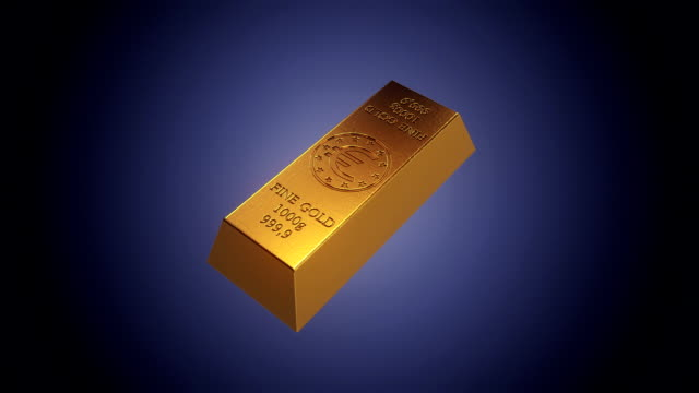 gold bar v2 - vignettierung stock-videos und b-roll-filmmaterial