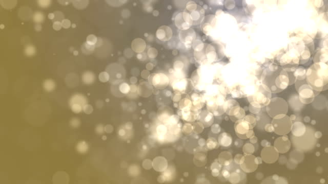 gold bokeh abstract light background - sequin stock videos & royalty-free footage