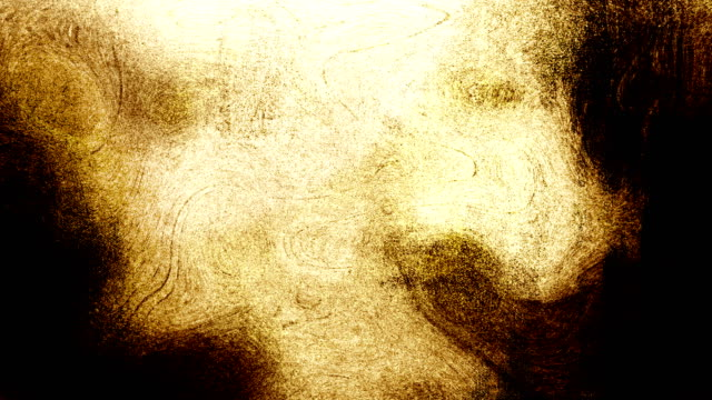 gold brown high contrasted blizzard grungy and dirty, animated, distressed and smudged stormy sky, clouds 4k video background with swirls and frame by frame motion feel with van gogh style - smudged stock videos & royalty-free footage