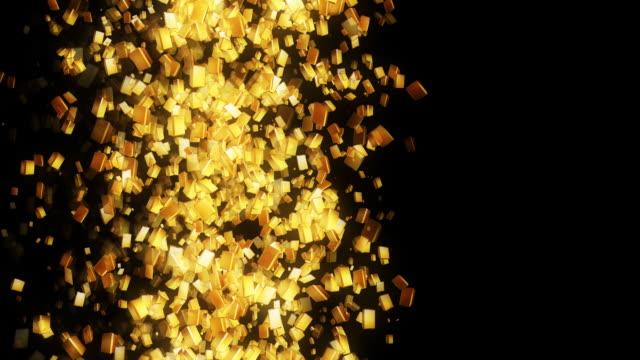 gold bullions - ingot stock videos and b-roll footage