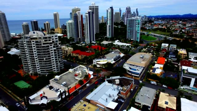 Gold Coast Australia Skyline Pan