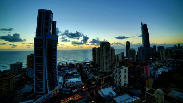 Gold Coast, Queensland, Australia Sunrise time lapse: 4K