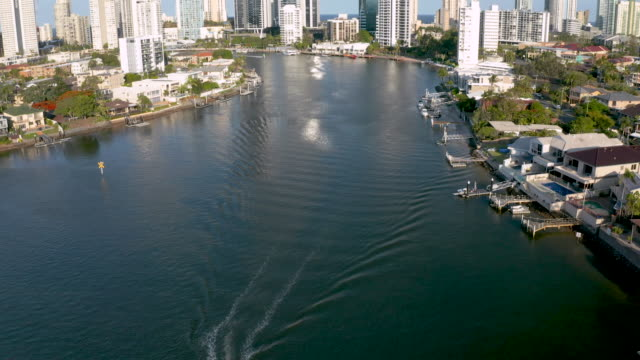 gold coast, queensland, australia - waterfront stock videos & royalty-free footage