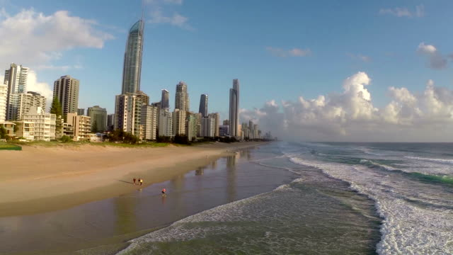 gold coast, queensland, australia - queensland stock videos & royalty-free footage