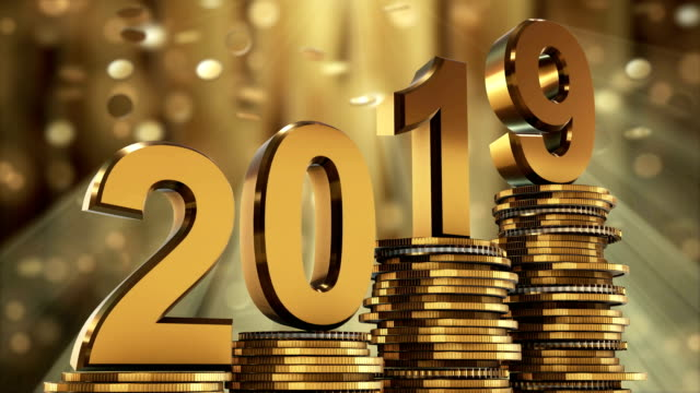 2019 gold coins falling - 2019 stock videos and b-roll footage