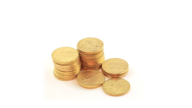 Gold Coins - HD Video