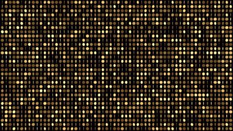 guldmynt-mönster - glitter effekt (loop 4k + färgnyckel) - guldgul bildbanksvideor och videomaterial från bakom kulisserna
