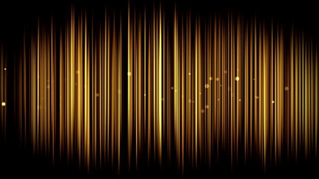 Gold Vorhang