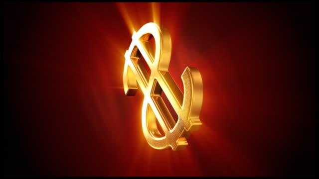 Gold Dollar-Symbol