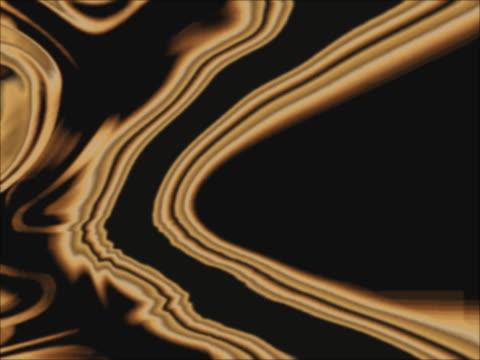 CU CGI Gold flowing shapes