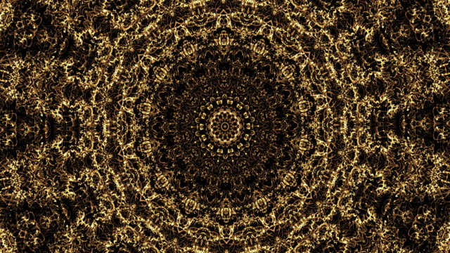 gold kaleidoscope - middle east stock videos & royalty-free footage