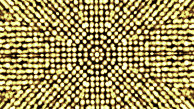 vídeos de stock e filmes b-roll de gold kaleidoscope - arabesco