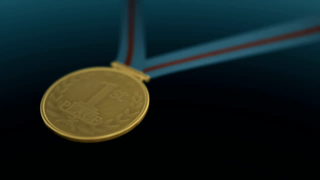 gold medal - award stock videos & royalty-free footage