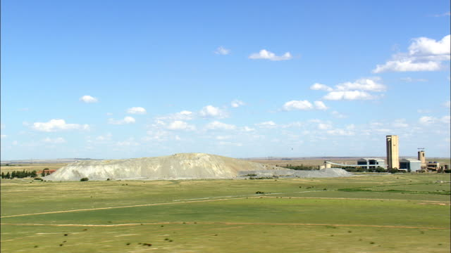 gold mining at Welkom - Aerial View - Orange Free State,  Lejweleputswa District Municipality,  Matjhabeng,  South Africa