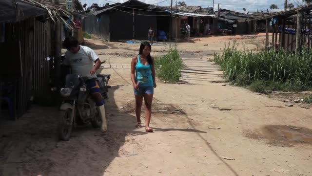 ms gold mining village the region of madre de dios in southeastern peru has been devastated by illegal gold mining it has a catastrophic effect on... - resourceful stock videos & royalty-free footage