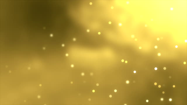 4K Gold Particle Background Loopable
