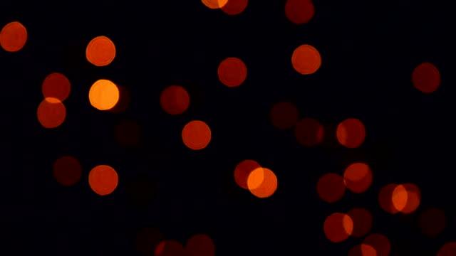Partículas parpadeantes de bucle de oro