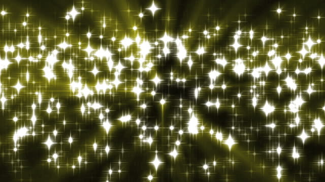 Gold Sparkles Background Loop