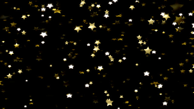 gold stars falling - performer stock videos & royalty-free footage