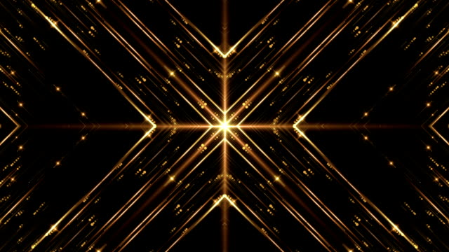 gold streak vj loop - surrounding wall stock videos & royalty-free footage