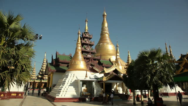 WS Gold stupa / Rangoon, Yangon, Myanmar