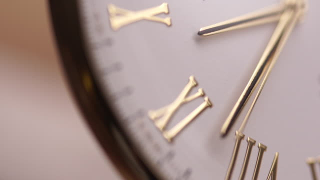 gold watch second hand close up - wrist stock videos & royalty-free footage