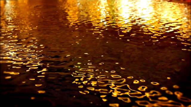 Gold water background
