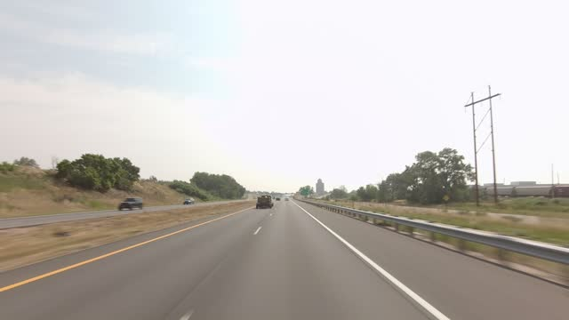 golden 8 synced series front highway 70 summer driving - number 8 stock videos & royalty-free footage