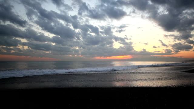 golden beach. - satoyama scenery stock videos & royalty-free footage