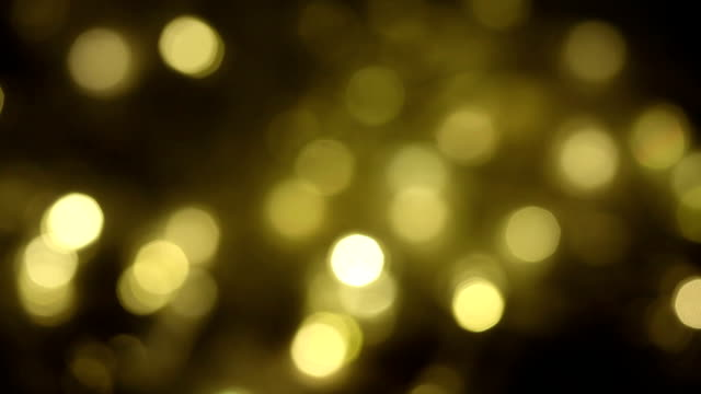 golden bokeh - blinking stock videos & royalty-free footage