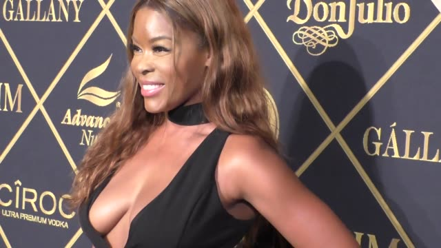 golden brooks at the 16th annual maxim hot 100 party at the hollywood palladium at celebrity sightings in los angeles on july 30 2016 in los angeles... - hollywood palladium stock videos & royalty-free footage
