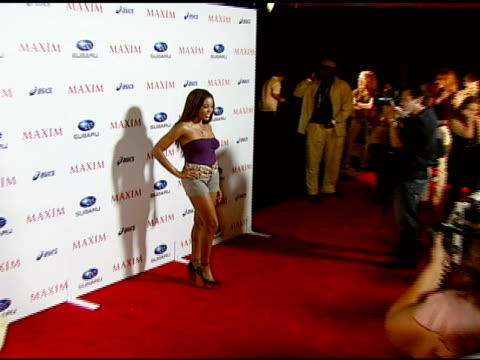 Golden Brooks at the Maxim Magazine's ICU Event at Area in Los Angeles California on August 2 2007