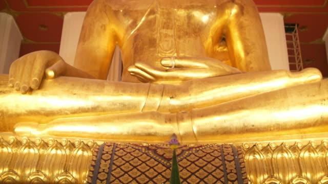 Golden Buddha in Ayutthaya, Thailand