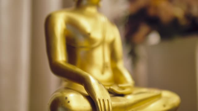 golden buddha - religious celebration stock videos & royalty-free footage