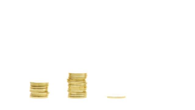 vidéos et rushes de hd : pièces d'or venue - pièce de cinq cents