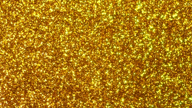 golden color glitter texture - geometric stock videos & royalty-free footage