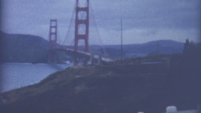 golden gate bridge 1950's - 1959 stock videos & royalty-free footage