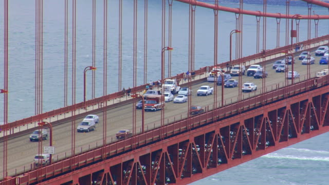 golden gate bridge, san francisco, usa - golden gate bridge stock videos & royalty-free footage