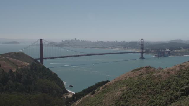 Golden Gate Bridge Tilt Shot
