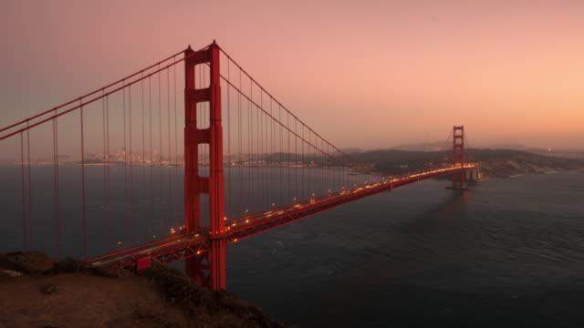 golden gate bridge timelapse - カリフォルニア州 サンフランシスコ点の映像素材/bロール