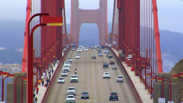 golden gate bridge - golden gate bridge stock-videos und b-roll-filmmaterial