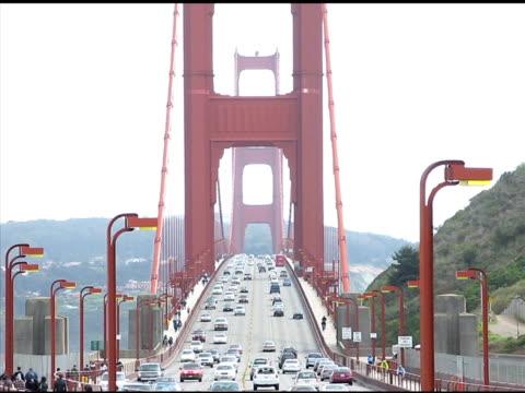 vídeos y material grabado en eventos de stock de golden gate bridge (ntsc - puente golden gate