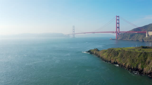 golden gate bridge - golden gate bridge stock videos & royalty-free footage