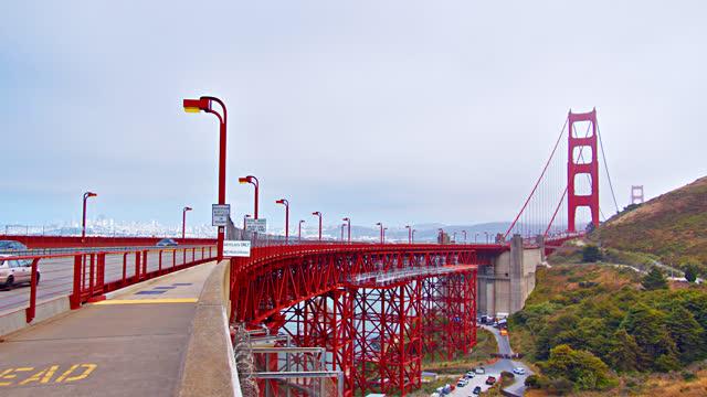 golden gate bridge. - san francisco bay stock videos & royalty-free footage